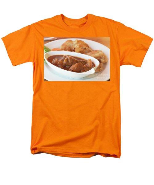 Men's T-Shirt  (Regular Fit) featuring the photograph Chicken Massaman Curry by Atiketta Sangasaeng