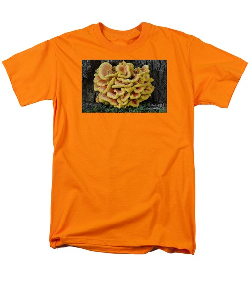 Chicken Of The Woods Men's T-Shirt  (Regular Fit) by Randy Bodkins