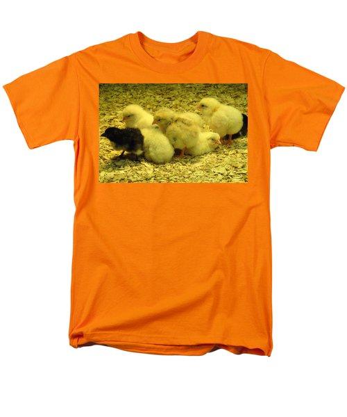 Men's T-Shirt  (Regular Fit) featuring the photograph Chicks by Laurel Best