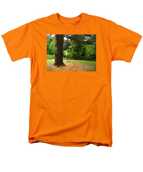 Men's T-Shirt  (Regular Fit) featuring the photograph Childhood by Betsy Zimmerli