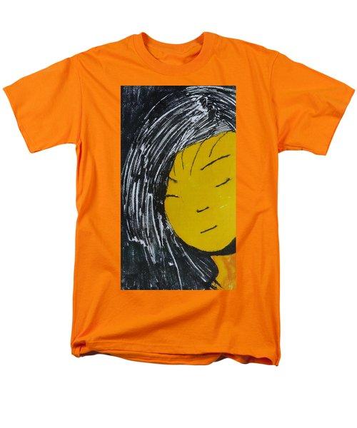 Chinese Japanese Girl Men's T-Shirt  (Regular Fit) by Don Koester