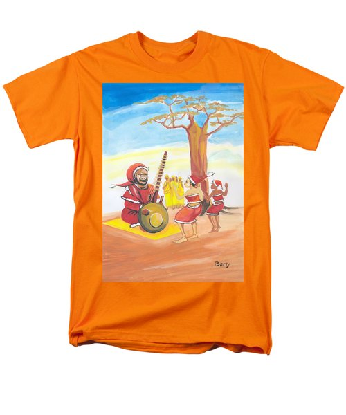 Christmas In Senegal Men's T-Shirt  (Regular Fit) by Emmanuel Baliyanga