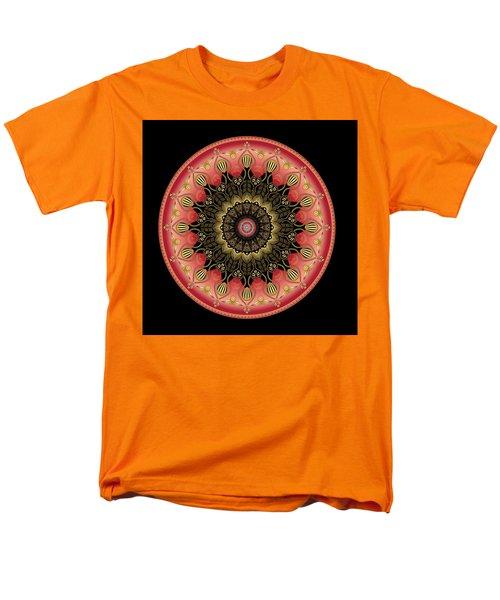 Men's T-Shirt  (Regular Fit) featuring the digital art Circularium No 2659 by Alan Bennington