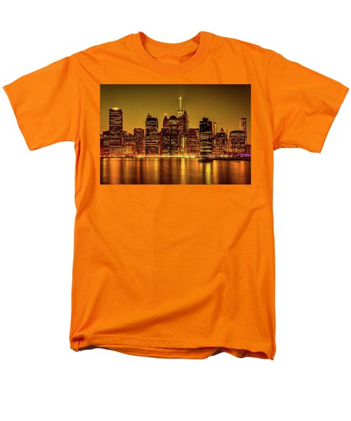 Men's T-Shirt  (Regular Fit) featuring the photograph City Of Gold by Chris Lord