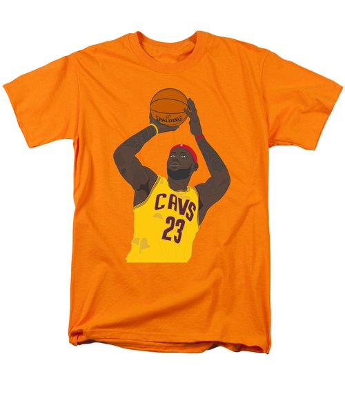 Cleveland Cavaliers - Lebron James - 2014 Men's T-Shirt  (Regular Fit) by Troy Arthur Graphics