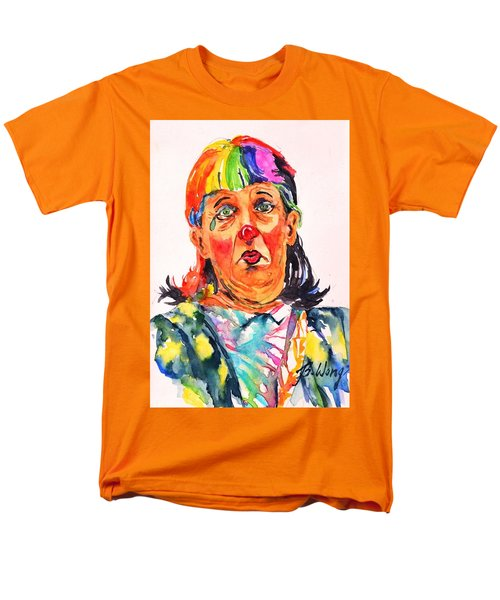 Clown Series Oh No  Men's T-Shirt  (Regular Fit) by Betty M M Wong