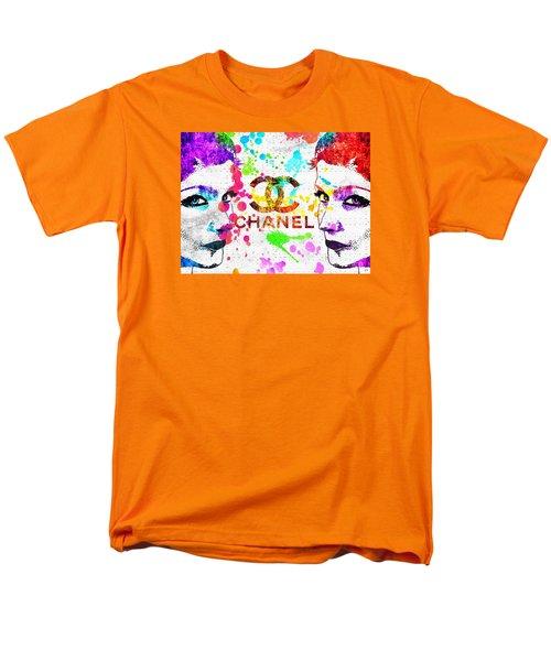 Coco Chanel Grunge Men's T-Shirt  (Regular Fit) by Daniel Janda