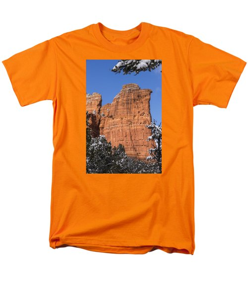 Coffee Pot Rock Men's T-Shirt  (Regular Fit) by Laura Pratt