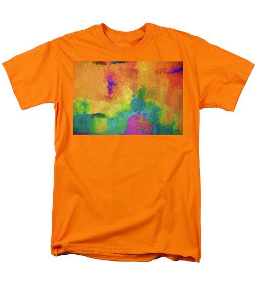 Color Abstraction Xxxiv Men's T-Shirt  (Regular Fit)