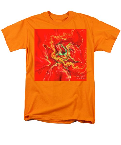 Men's T-Shirt  (Regular Fit) featuring the digital art Color Blast by Deborah Benoit