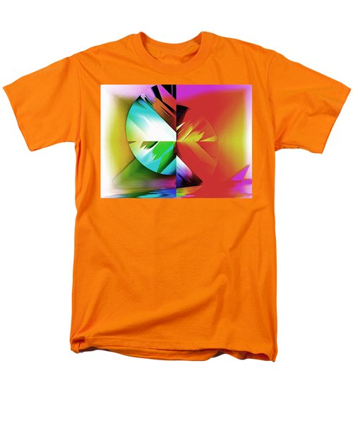 Color Of The Fractal Men's T-Shirt  (Regular Fit) by Mario Carini