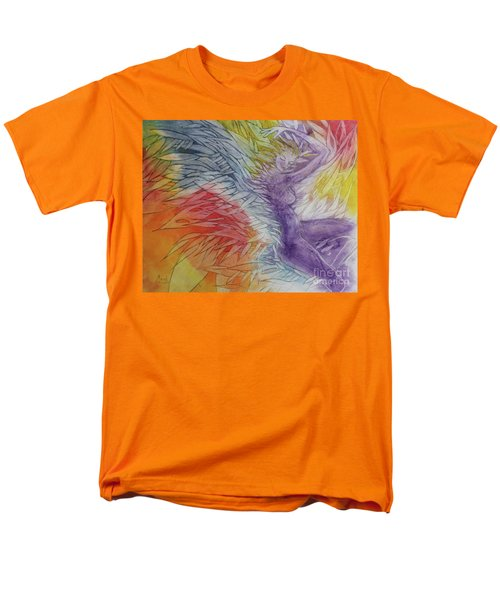 Men's T-Shirt  (Regular Fit) featuring the drawing Color Spirit by Marat Essex