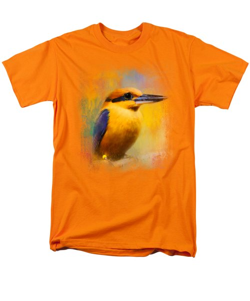 Colorful Expressions Kingfisher Men's T-Shirt  (Regular Fit) by Jai Johnson