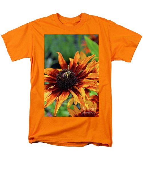 Coneflower  Men's T-Shirt  (Regular Fit) by Eva Kaufman