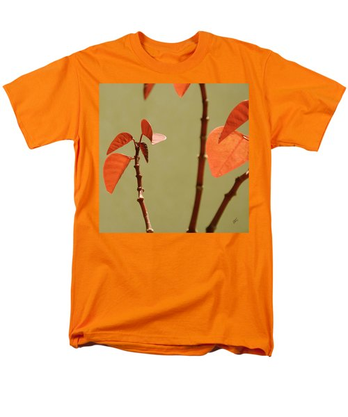 Men's T-Shirt  (Regular Fit) featuring the photograph Copper Plant 2 by Ben and Raisa Gertsberg