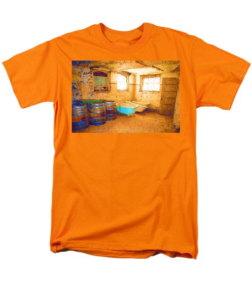 Men's T-Shirt  (Regular Fit) featuring the digital art Cornered by Holly Ethan