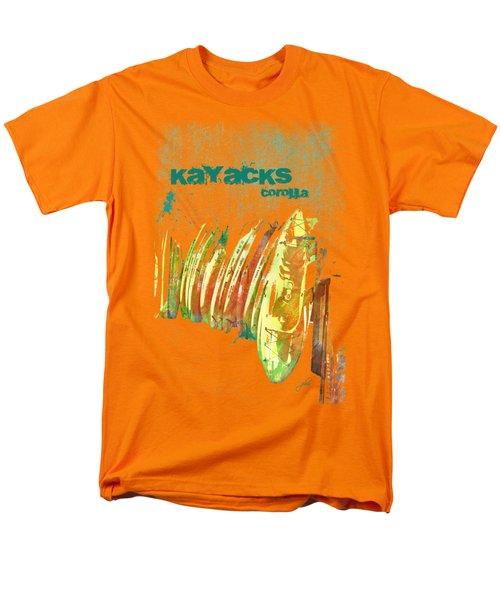 Corolla Kayacks Men's T-Shirt  (Regular Fit) by Paulette B Wright
