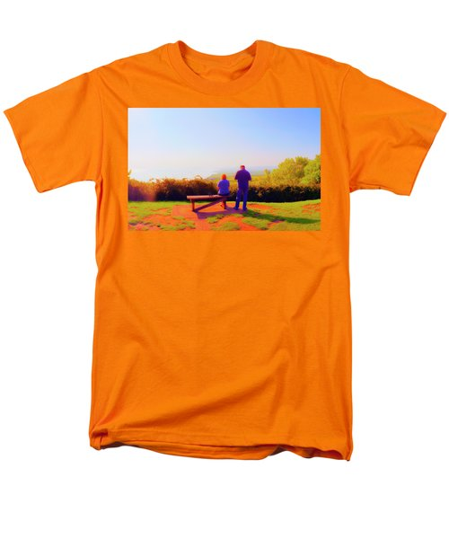 Couple Views Men's T-Shirt  (Regular Fit) by Jan W Faul