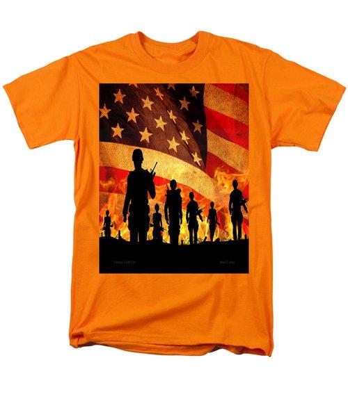 Courage Under Fire Men's T-Shirt  (Regular Fit)