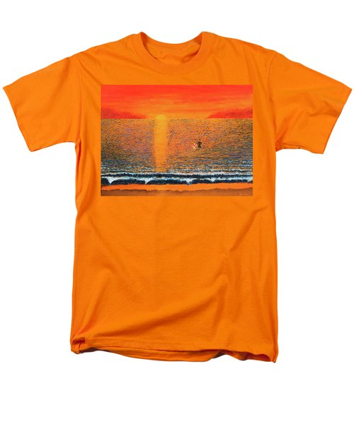 Crossing Over Men's T-Shirt  (Regular Fit) by Thomas Blood