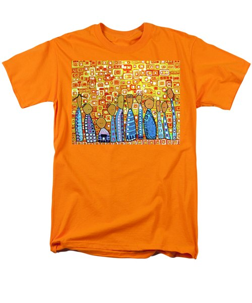 Men's T-Shirt  (Regular Fit) featuring the painting cue by Donna Howard