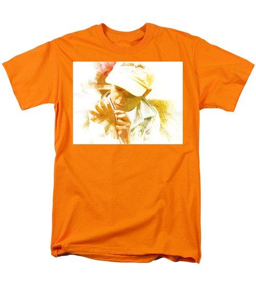 Men's T-Shirt  (Regular Fit) featuring the photograph Cuenca Kid 902 - Adinea by Al Bourassa