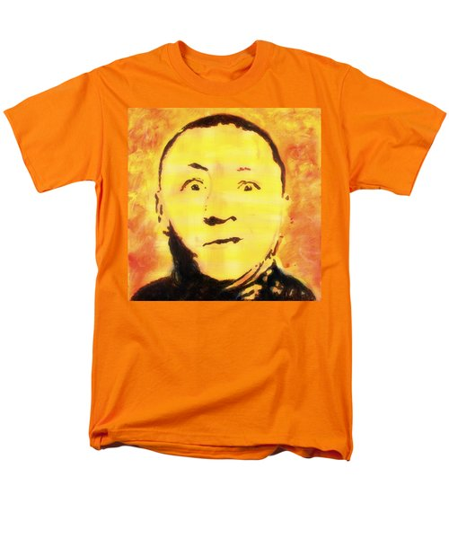 Curly Howard Three Stooges Pop Art Men's T-Shirt  (Regular Fit)