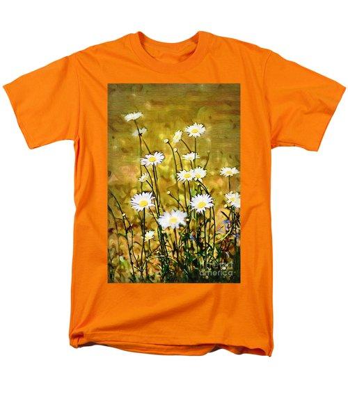 Men's T-Shirt  (Regular Fit) featuring the photograph Daisy Field by Donna Bentley