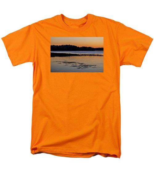 Damariscotta Twilight Men's T-Shirt  (Regular Fit) by Tom Singleton