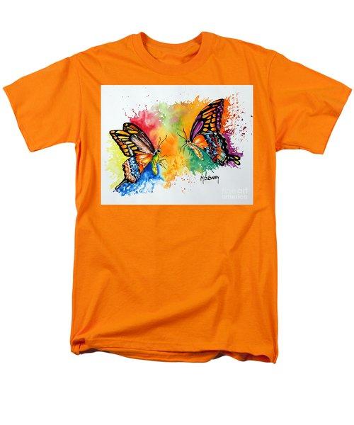 Dance Of The Butterflies Men's T-Shirt  (Regular Fit) by Maria Barry