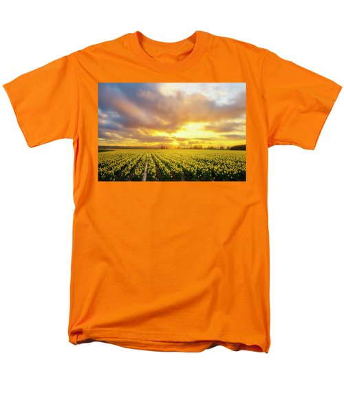 Dances With The Daffodils Men's T-Shirt  (Regular Fit) by Ryan Manuel