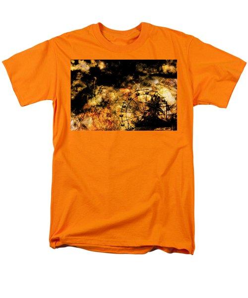 Dark Ferris Wheel Men's T-Shirt  (Regular Fit) by Don Gradner