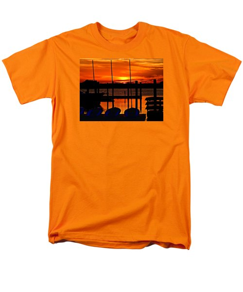 Men's T-Shirt  (Regular Fit) featuring the photograph Day Is Done by Laura Ragland