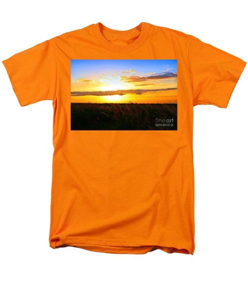 Men's T-Shirt  (Regular Fit) featuring the photograph Day's End by DJ Florek