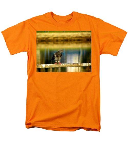 Daytona Beach Pigeon Men's T-Shirt  (Regular Fit) by Chris Mercer