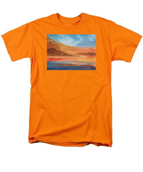 Men's T-Shirt  (Regular Fit) featuring the painting Death Valley by Ellen Levinson