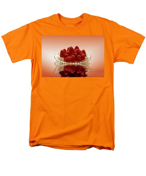 Delicious Raspberries Men's T-Shirt  (Regular Fit) by David French