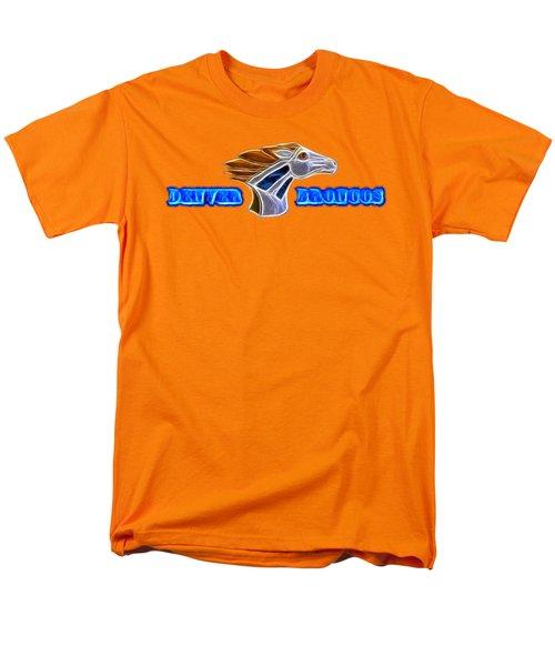 Men's T-Shirt  (Regular Fit) featuring the photograph Denver Broncos by Shane Bechler