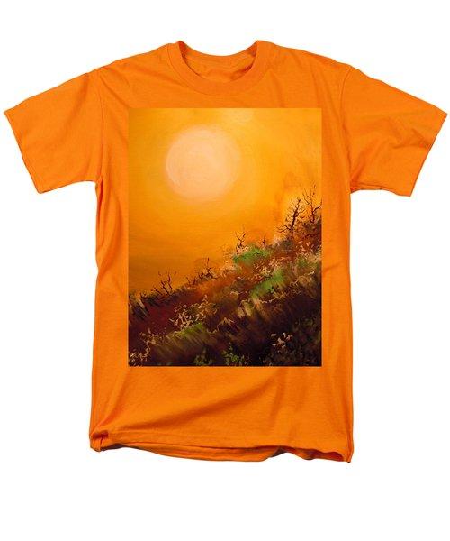 Hot Desert  Evening  Men's T-Shirt  (Regular Fit) by Dan Whittemore