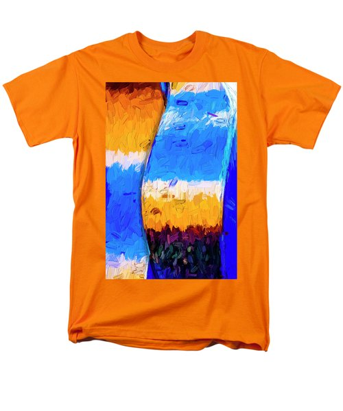 Men's T-Shirt  (Regular Fit) featuring the photograph Desert Sky 3 by Paul Wear