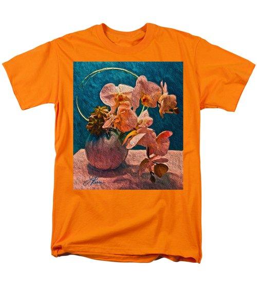 Designer Floral Arrangement Men's T-Shirt  (Regular Fit) by Joan Reese