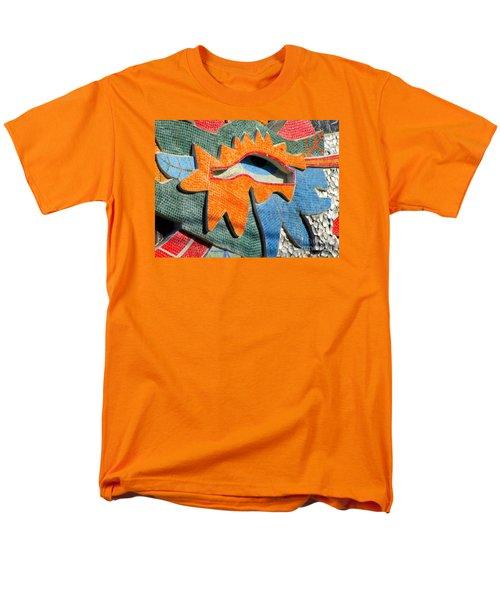 Diego Rivera Mural 9 Men's T-Shirt  (Regular Fit) by Randall Weidner