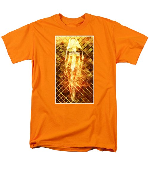Men's T-Shirt  (Regular Fit) featuring the digital art Disrespectful Sister by Andrea Barbieri