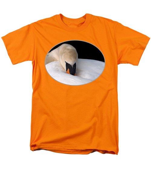 Do Not Disturb - Orange Men's T-Shirt  (Regular Fit) by Gill Billington