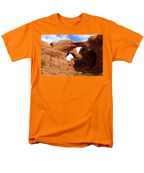 Double Arch Men's T-Shirt  (Regular Fit) by Marty Koch