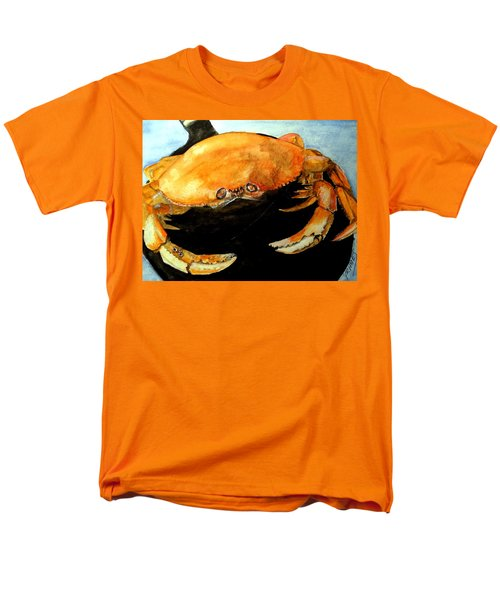 Men's T-Shirt  (Regular Fit) featuring the painting Dungeness For Dinner by Carol Grimes