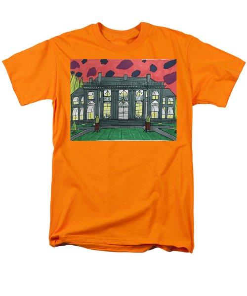 Dupont Family Mansion. Men's T-Shirt  (Regular Fit) by Jonathon Hansen