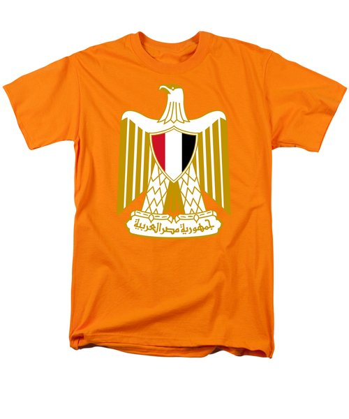 Egypt Coat Of Arms Men's T-Shirt  (Regular Fit) by Movie Poster Prints