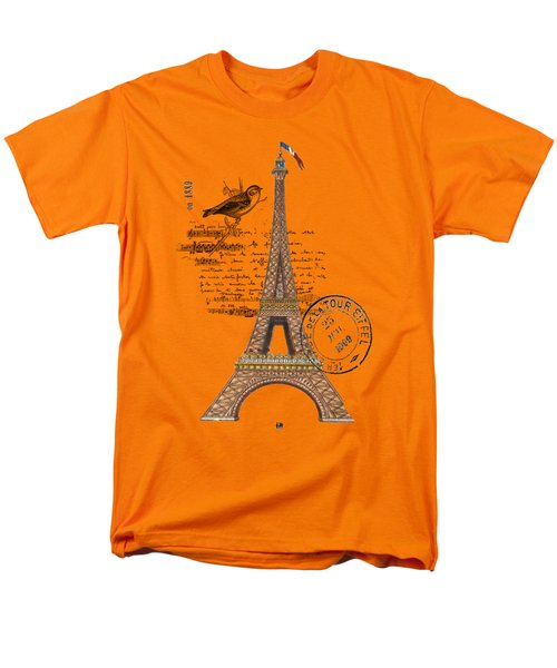 Eiffel Tower T Shirt Design Men's T-Shirt  (Regular Fit) by Bellesouth Studio
