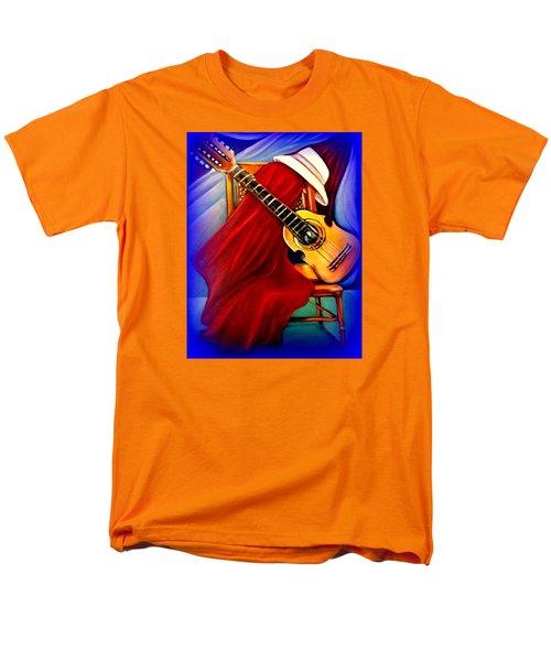 El Cuatro De Papi Men's T-Shirt  (Regular Fit) by Yolanda Rodriguez